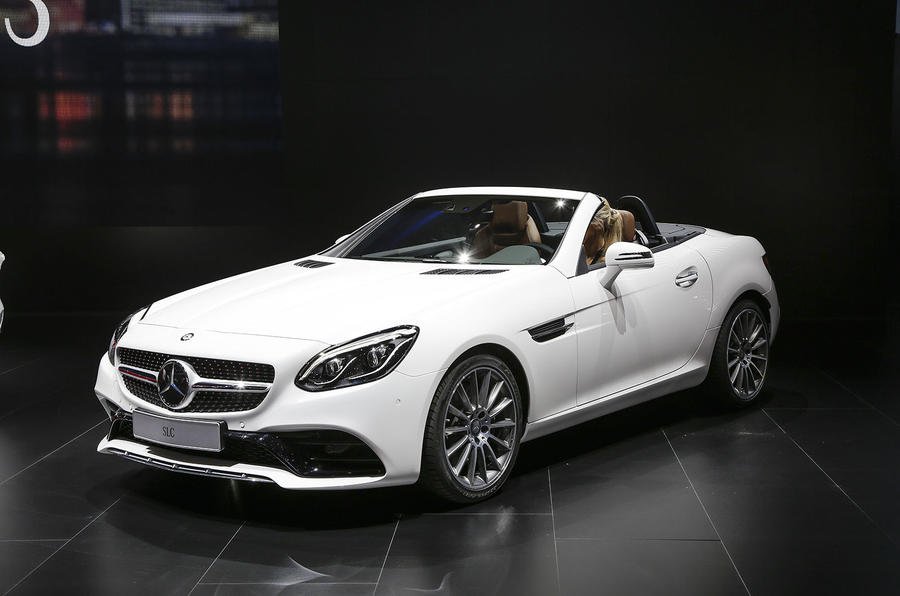 Awesome 2016 Mercedes Benz SLC ...