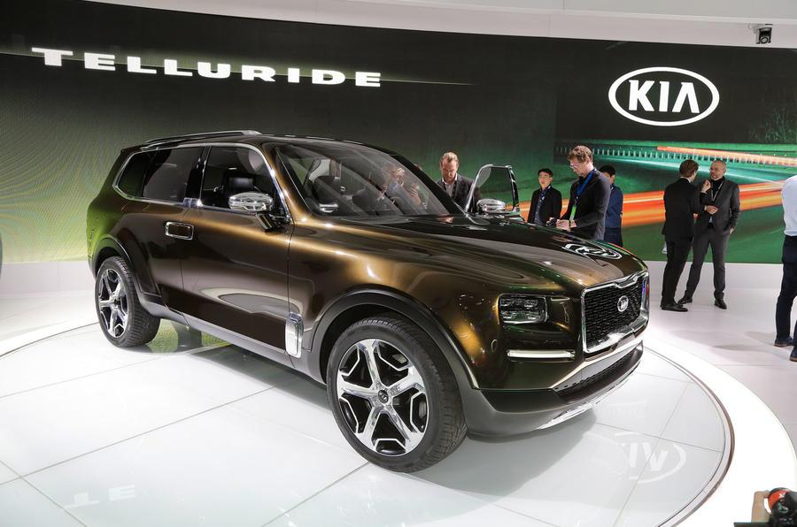Kia telluride concept suv revealed autocar for Kia gunther motor co