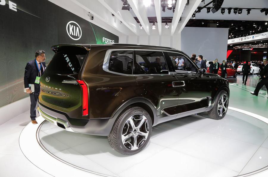 Kia Telluride Concept Suv Revealed Autocar