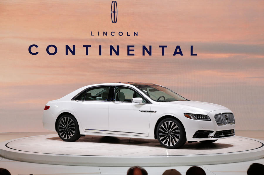 2017 lincoln continental revealed at naias autocar. Black Bedroom Furniture Sets. Home Design Ideas