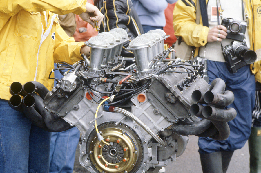 Throwback Thursday: Servicing Cosworth DFV Formula 1 engines