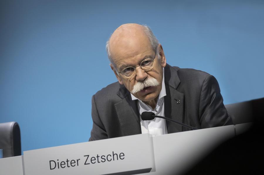 Mercedes boss Zetsche