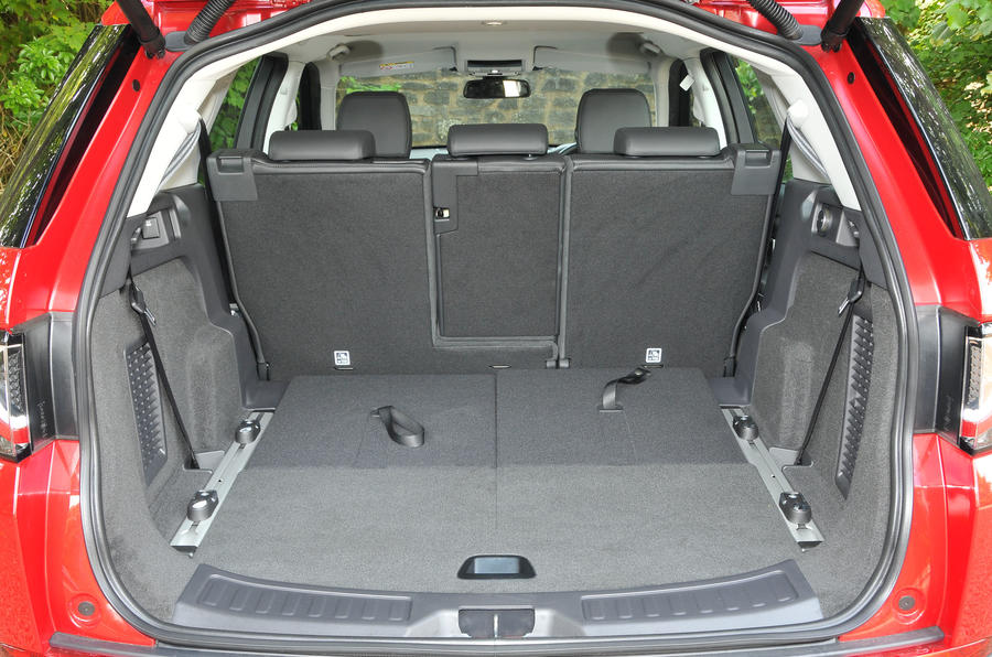 Land Rover Discovery Sport full boot
