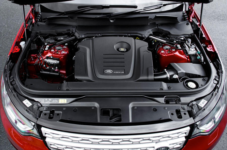2.0-litre Land Rover Discovery diesel engine