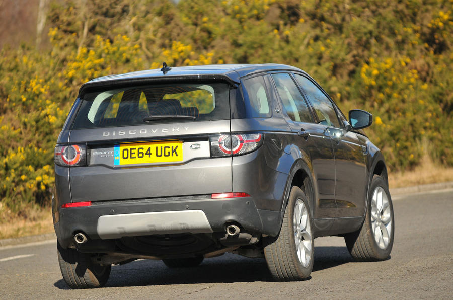 Land Rover Discovery Sport rear