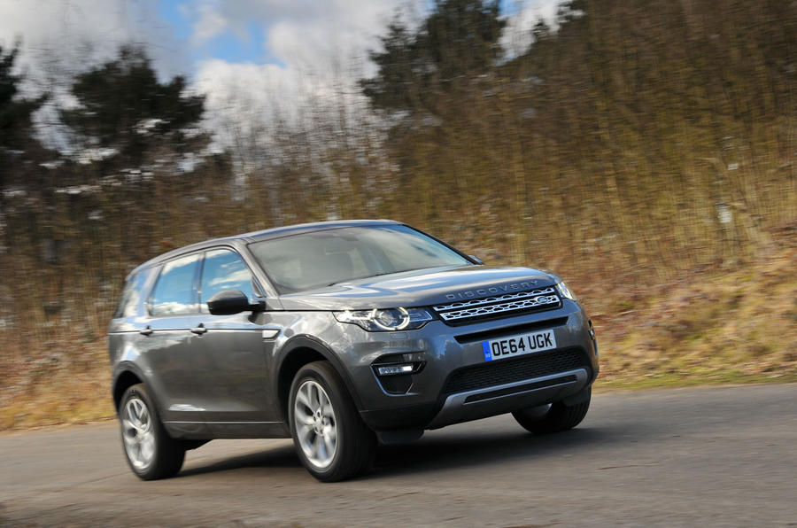 £37,595 Land Rover Discovery Sport