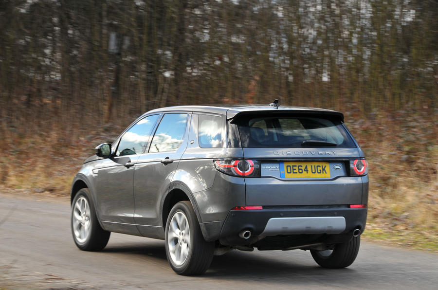 117mph Land Rover Discovery Sport