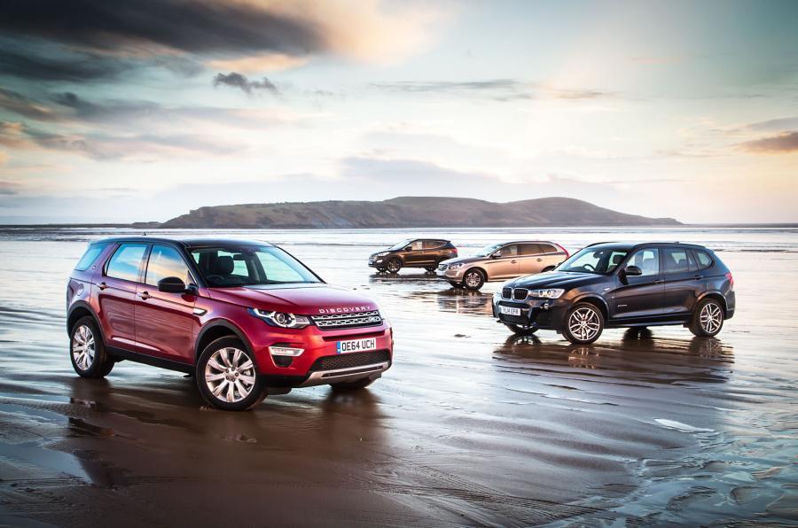 Land Rover Discovery Sport versus BMW X3, Volvo XC60 & Hyundai Santa Fe