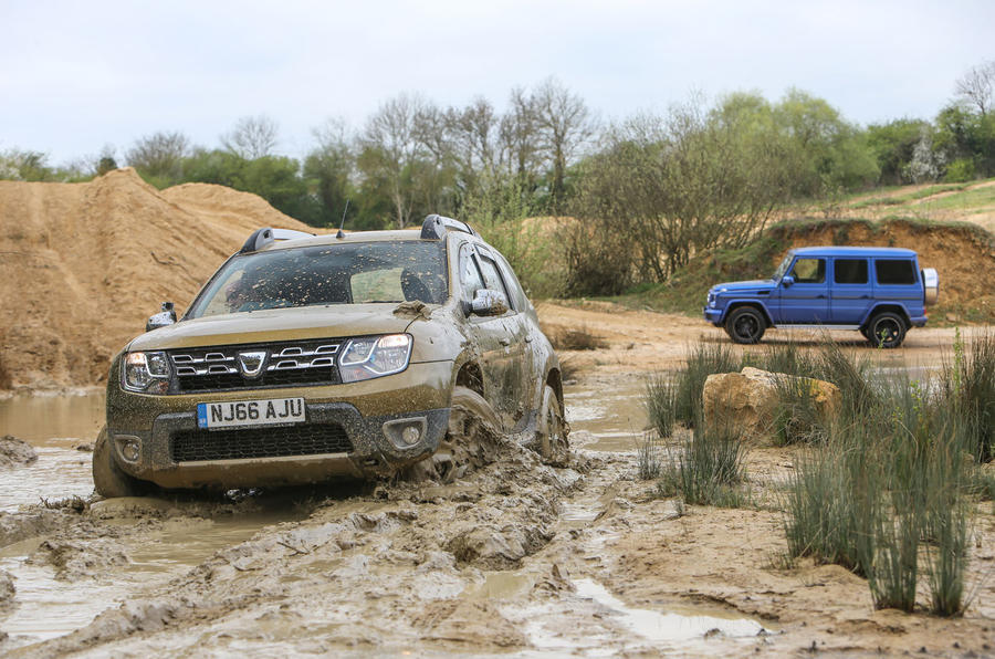 4x4 heroes - the best off-roaders compared