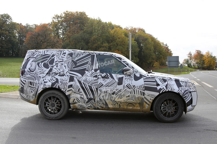 Land Rover Discovery spy pictures