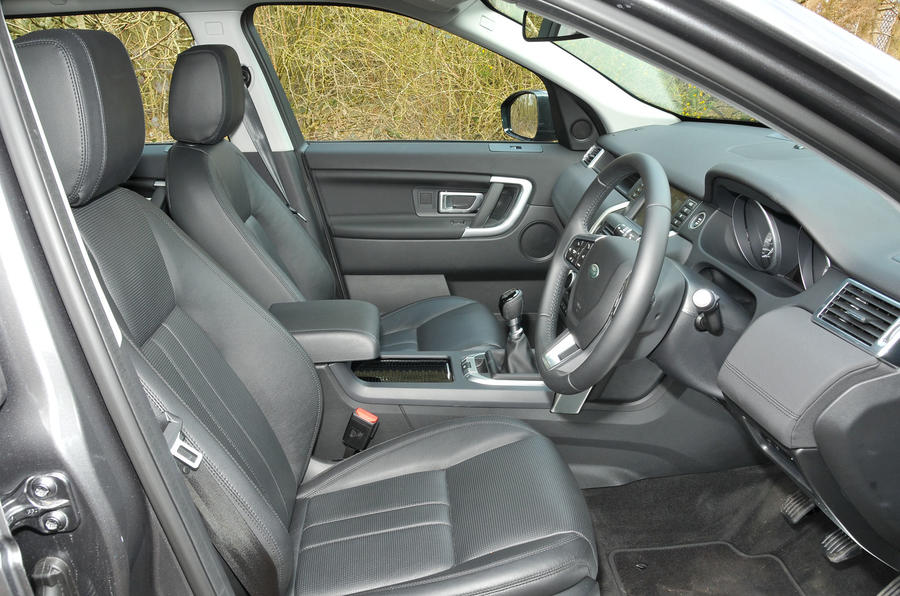 Land Rover Discovery Sport interior