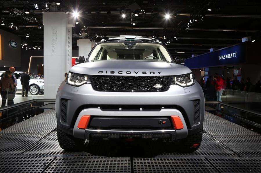 Land Rover Discovery SVX will be followed by more hardcore off-roaders