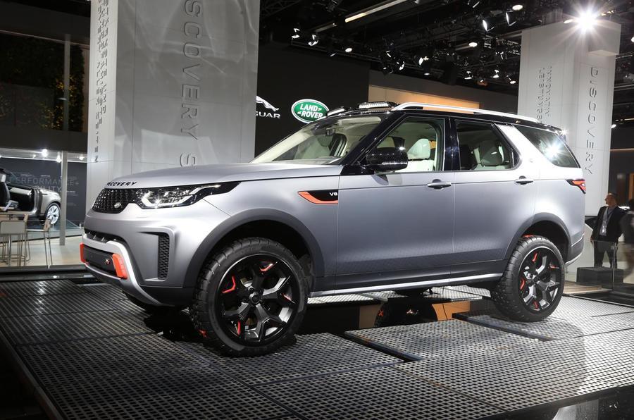 Land Rover Discovery SVX Frankfurt reveal