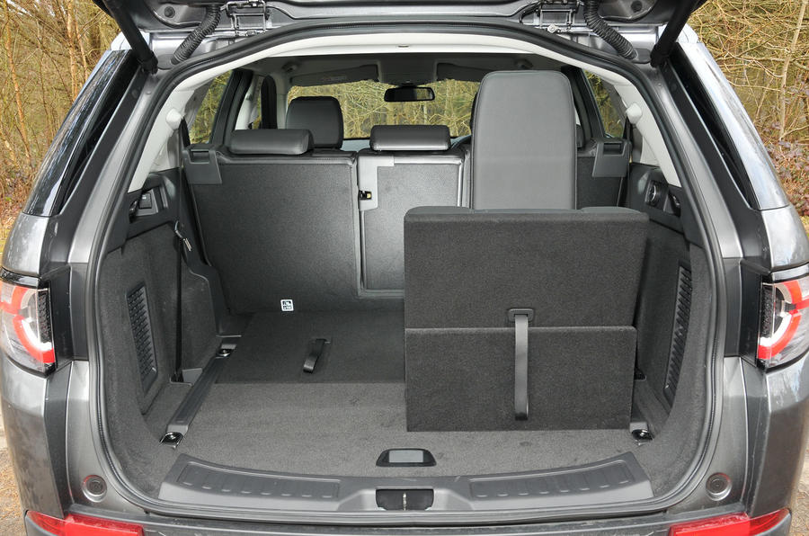Land Rover Discovery Sport seating flexibility