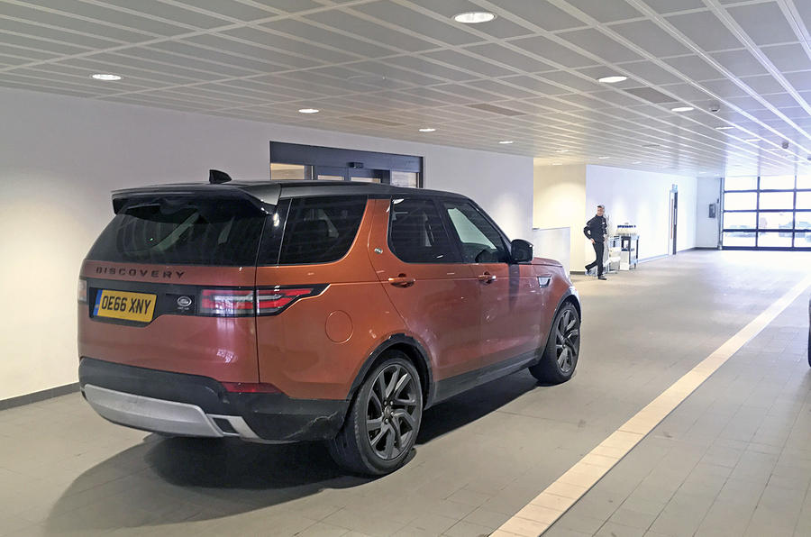 Land Rover Discovery long-term review indoor service handover