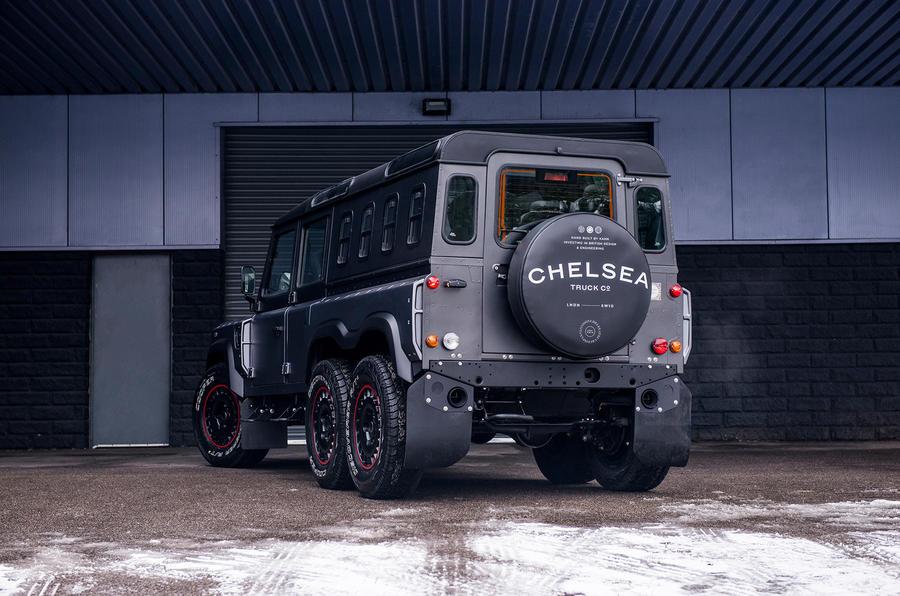 £250k Chelsea Truck Company 6X6 Civilian Carrier launches in Geneva