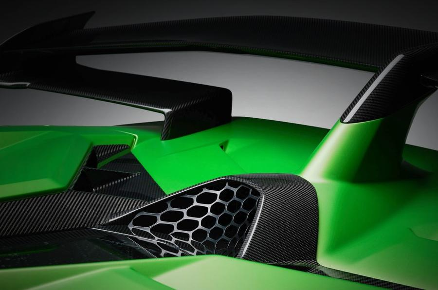Lamborghini Aventador SVJ previewed ahead of Pebble Beach debut