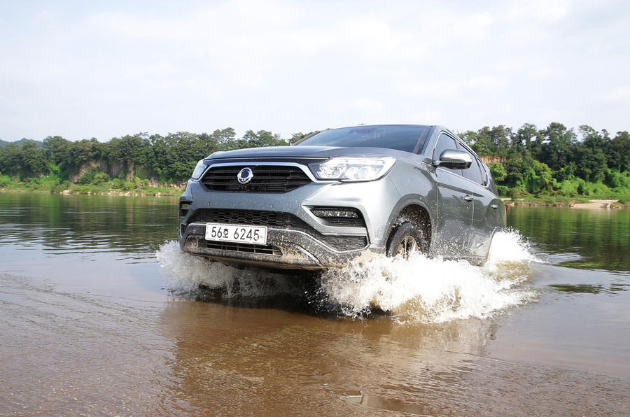 We take the Ssangyong Rexton to the DMZ