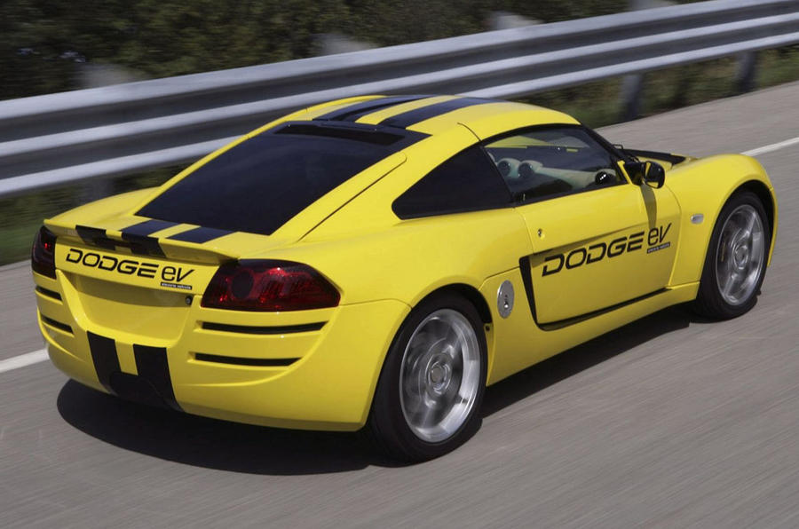 Dodge electric sports car
