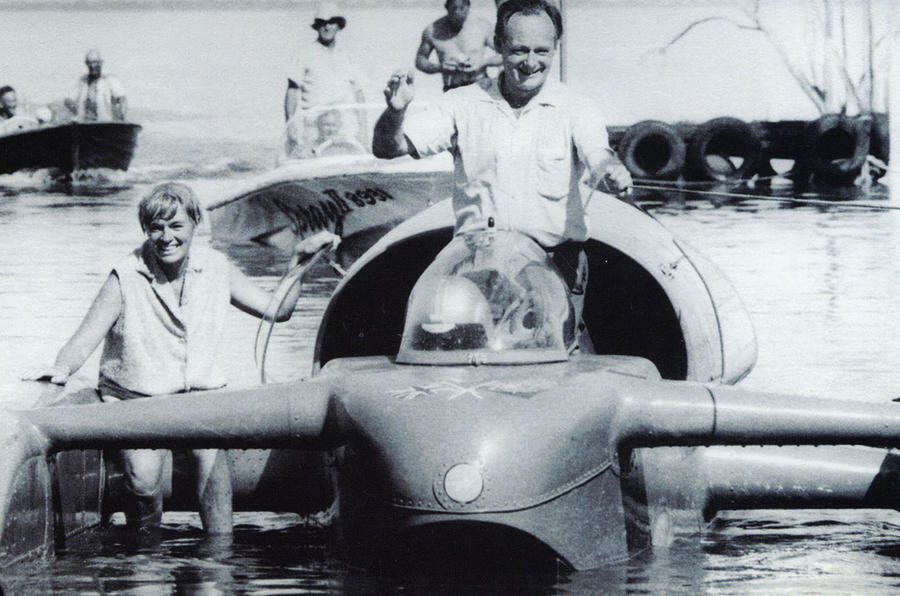 Remembering Donald Campbell - the fastest Briton on land and water