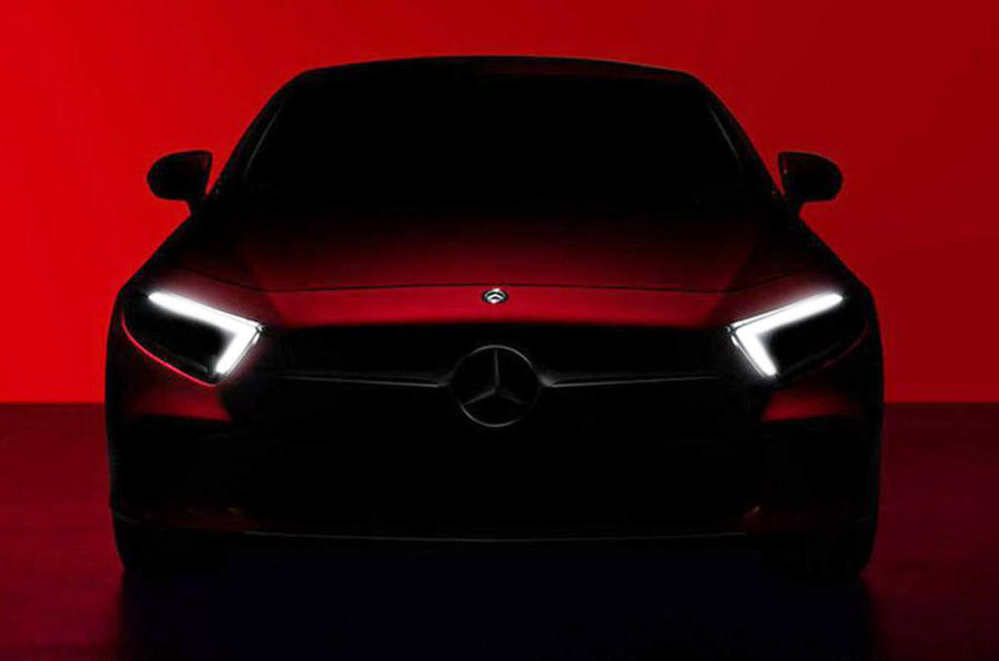 Next Mercedes-Benz CLS previewed in first official picture