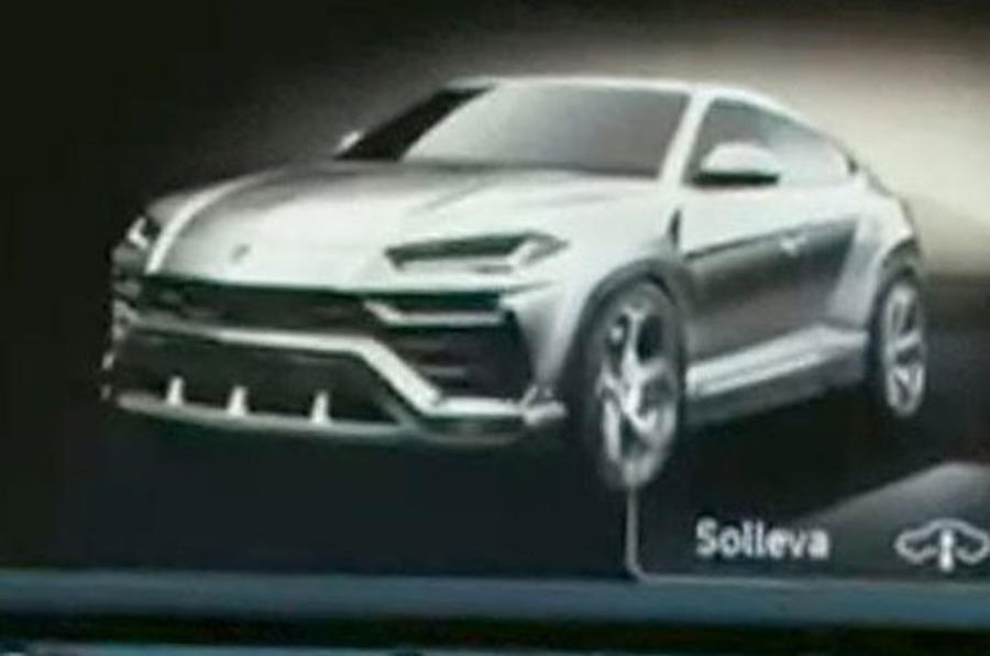 Lamborghini Urus accidentally revealed in Corsa mode video