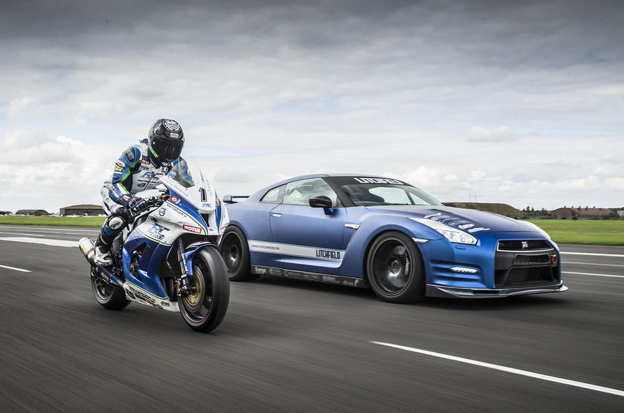 Litchfield Nissan GT-R, race bike