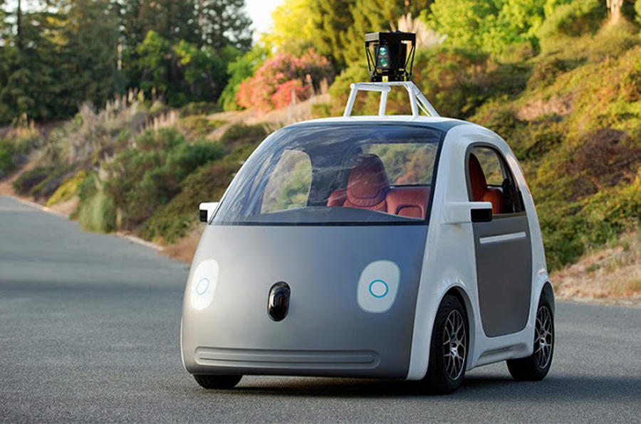 Driverless car testing permitted in California