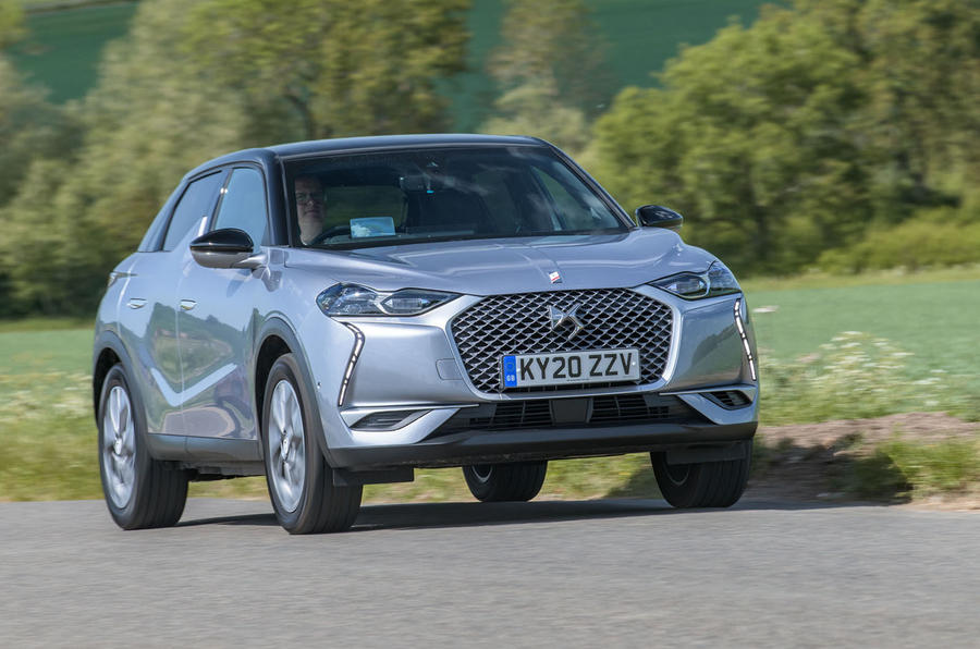 2020 DS 3 Crossback E-Tense - front