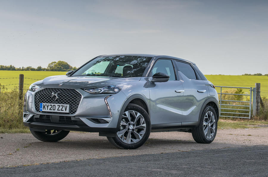 2020 DS 3 Crossback E-Tense - static front