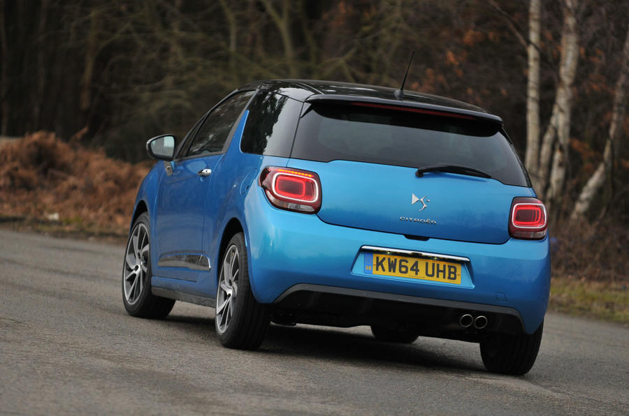 Citroën DS 3 DSport Plus rear cornering