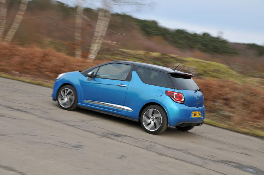 135mph Citroën DS 3 DSport Plus