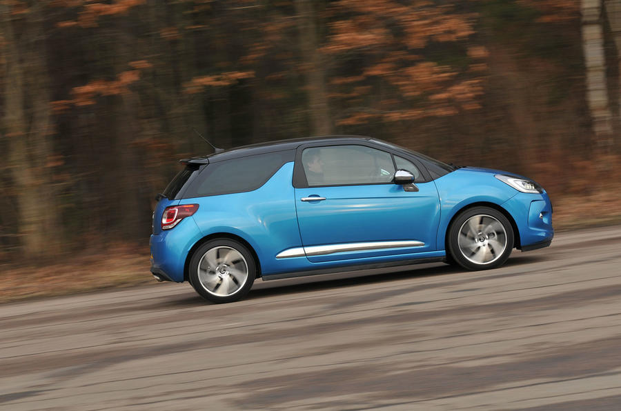 161bhp Citroën DS 3 DSport Plus