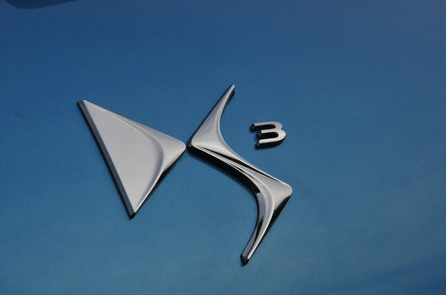Citroën DS 3 badging