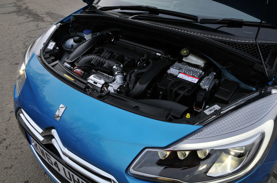 1.6-litre Citroën DS 3 petrol engine