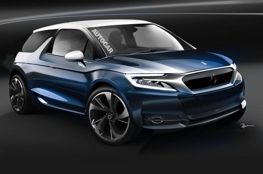 ds 3 set for geneva motor show debut autocar. Black Bedroom Furniture Sets. Home Design Ideas