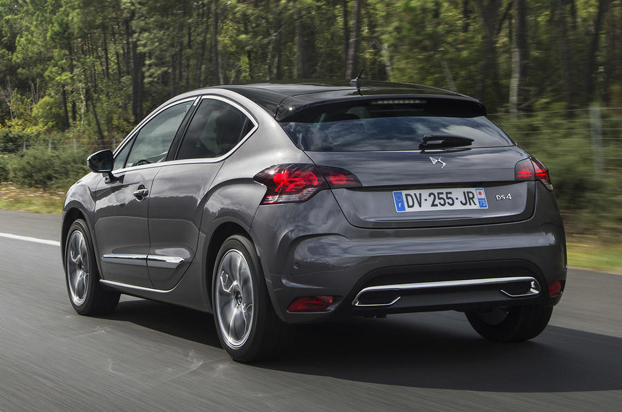 DS 4 Prestige rear