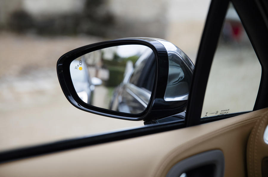 DS 4 wing mirror