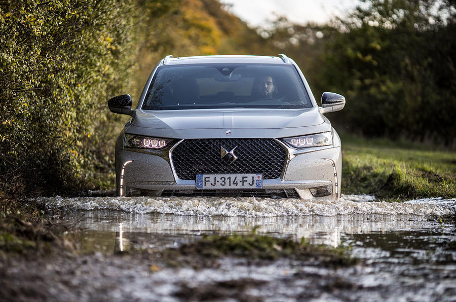 DS 7 Crossback E-Tense 2019 first drive review - wading