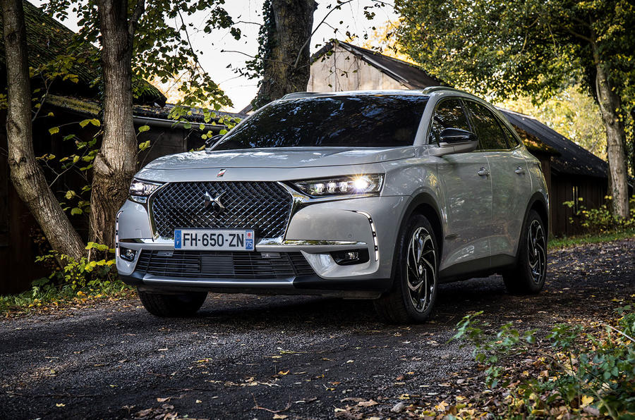DS 7 Crossback E-Tense 2019 first drive review - static