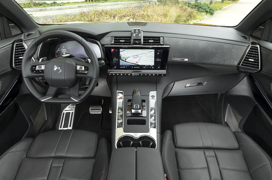 DS7 Crossback dashboard