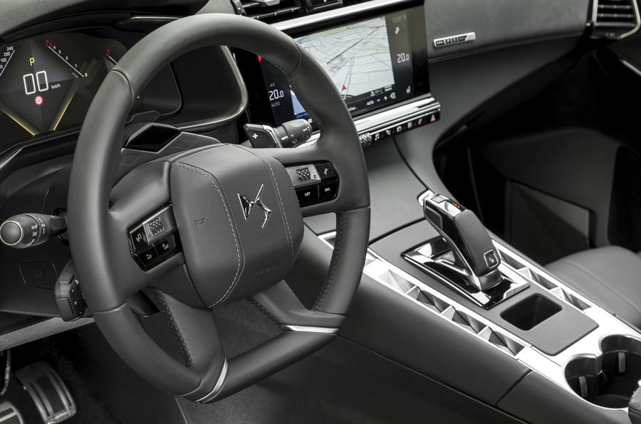 DS7 Crossback steering wheel