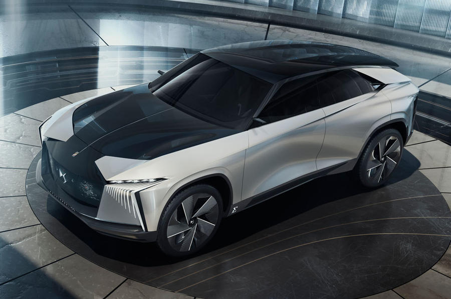 2020 DS Aero Sport Lounge concept - front 3/4