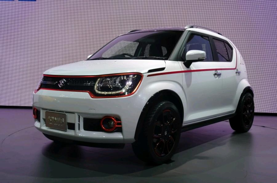 suzuki ignis hatchback revealed in tokyo autocar. Black Bedroom Furniture Sets. Home Design Ideas
