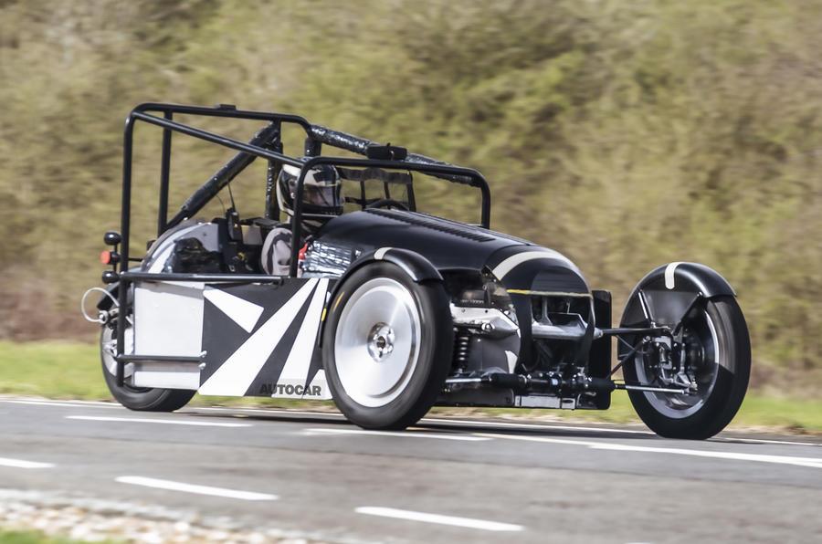 2022 Morgan 3 Wheeler prototype