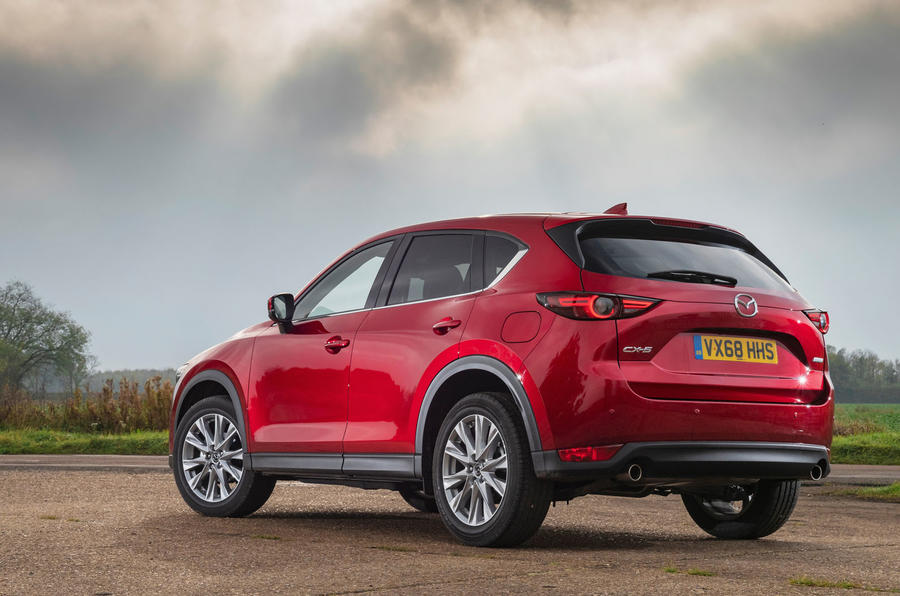 Updated Mazda Cx 5 Includes New Suspension And Range Topping Gt