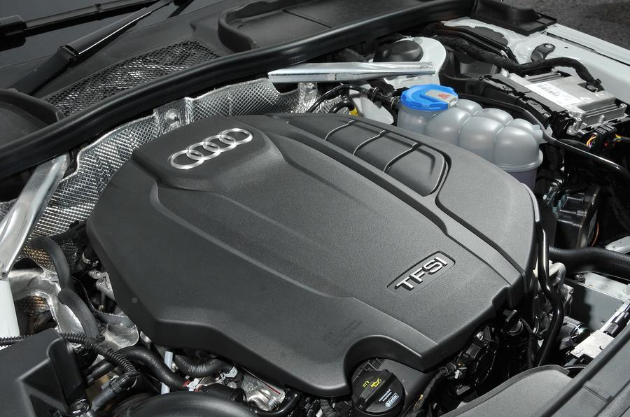Dsc on Audi A4 Engine