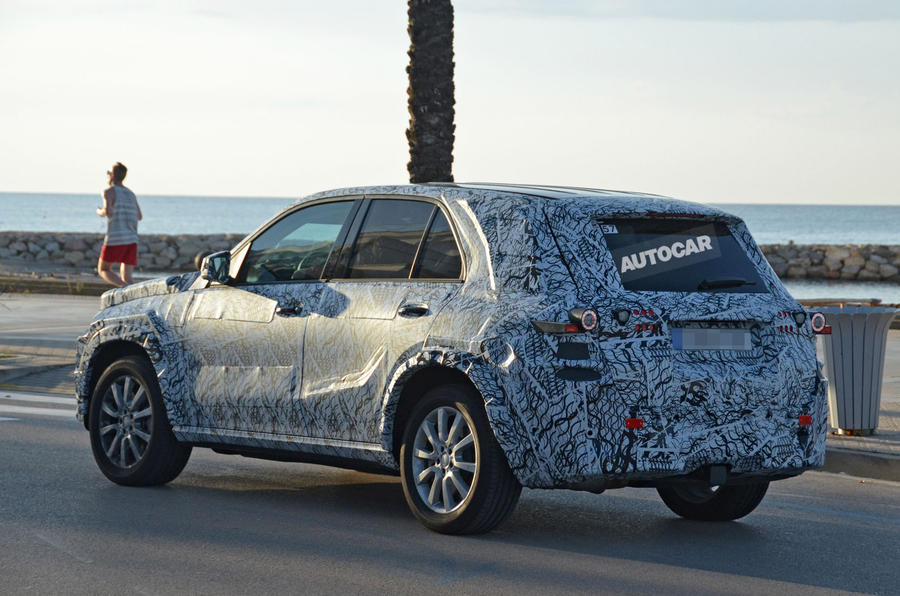 New spy shots of Mercedes-Benz's upcoming off-roader show it has ...
