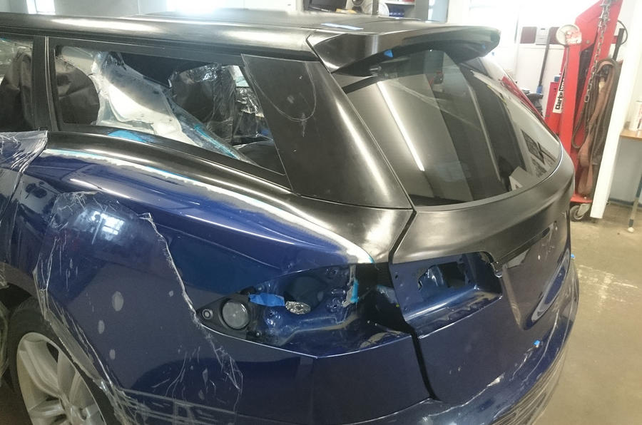 Tesla Model S estate in progress as coachbuilt one-off
