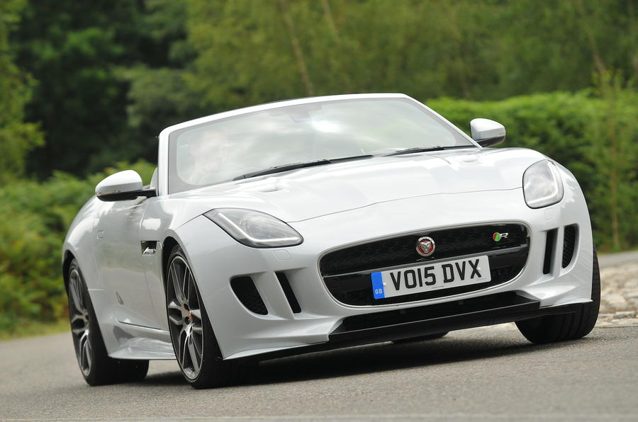 Jaguar F-Type R Convertible AWD